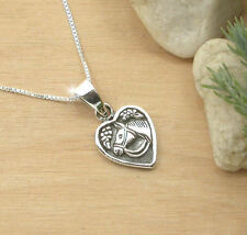 HORSE & WESTERN JEWELLERY JEWELRY 925 STERLING SILVER HEART HORSE NECKLACE