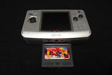 SNK NEOGEO POCKET COLOR CONSOLE Silver EDITION W/GAME USED JAPAN!