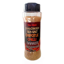 Chilli Powder Salt - Oak Smoked Dead Sea Salt & Mexican Chipotle Chilli Shaker