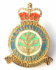 RAF Air Warfare Service Royal Air Force Military Lapel Pin Badge *Official*