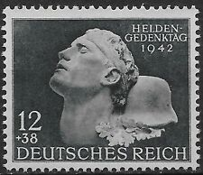 Germany Third Reich Mi # 812 MNH Hero's Remembrance Day 1942 **
