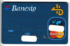 CARTE / CARD  BANQUE BANK CREDIT .. ANCIENNE OLD CB BANESTO PERIMEE MAGNETIQUE