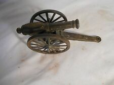 VINTAGE COLLECTIBLE METAL TOY CANNON