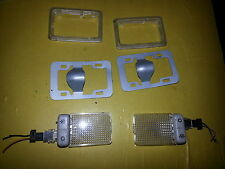 GENUINE FORD FOCUS MK1/FORD MONDEO MK3/FORD FUSION/FOCUS ST VANITY LIGHTS X 2