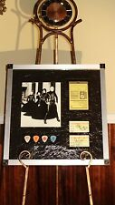 SMASHING PUMPKINS 2000 AUTOGRAPHED / SIGNED TICKETS w/ GUITAR PICKS & PASS!!