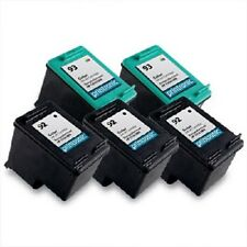 5 Recycled HP 92 93 Ink Cartridge C9362WN C9361WN PSC 1510 DeskJet 5440 Printer