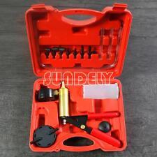 Hand Held Brake Bleeder Bleeding Vacuum Pump Tool Kit Car Vehicle Garage