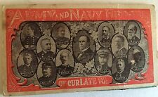 Vintage Needle Book Army and Navy Army Heroes  Of Our Late War