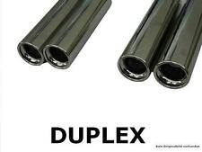 FOX Sports Exhaust Duplex Complete system Honda Civic 6 Coupe 2x80