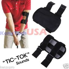Golf Swing Training Straight Practice Golf Elbow Brace Aid Corrector Support Arc