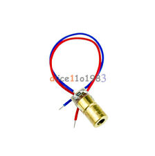 Imported 10PCS 650nm 5mW Laser Red Dot Module red laser sight diode pointer
