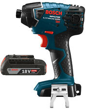 "BOSCH 25618B-RT 18-Volt Lithium-Ion 1/4"" 18V Impact Driver & BAT612-RT Battery"