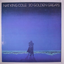 NAT KING COLE: 20 Golden Greats LP (UK) Vocalists
