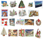 Large Luxury Pop up 3-D Christmas Advent Calendars - free post in UK