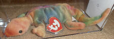 MWMT MQ Authenticated Ty 3rd Gen Lizzy Tie-Dyed Beanie - Orange Belly