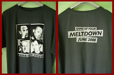 GANG OF FOUR - MELTDOWN GIG T-SHIRT (XL)  NEW & UNWORN