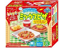 kracie popin cookin happy kitchen Mixed  Pizza Japanese candy making kitnwe