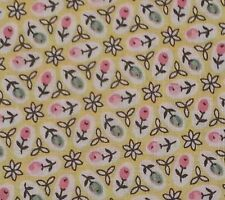 """1 yd 18"""" Aunt Grace Classics Judie Rothermel Marcus Brothers 1930's Feedsack"""