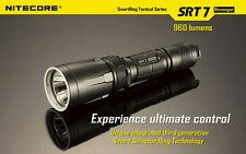 BRAND NEW BLACK NITECORE SRT7 Revenger 960 LED Lumen Flashlight