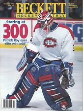 Beckett Hockey Monthly December 1995 #62 Patrick Roy & Alexei Zhamnov  NHL