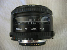 SIGMA AF 24MM F2.8 II SUPER WIDE LENS (NIKON AF MOUNT MADE IN JAPAN)