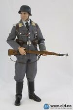 "1/6 12"" DID DRAGON GERMAN LUFTWAFFE STANDARD BEARER CRISTOF CHRISTIAN BALE 3R"