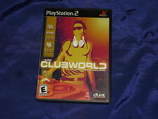eJay Clubworld  (Sony PlayStation 2, 2003) with Book!