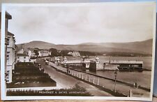 Irish Postcard RPPC Promenade WARRENPOINT Co DOWN Northern Ireland Real Photo