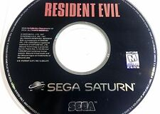 Resident Evil (Sega Saturn, 1997) - US VERSION - CD ONLY (Authentic)
