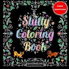 Coloring Book Adult Relax Silly Kinky Slutty Words Designs Funny Stress Therapy
