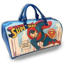 SUPERMAN WEEKEND BAG HOLDALL OFFICIAL LARGE GOOD QUALITY BRAND NEW WITH TAGS
