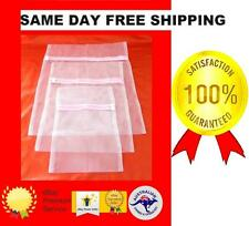 30cm x 40cm SMALL  ZIPPER WASH MESH NET BAG LAUNDRY, CLOTHES LINGERIE DELICATES