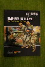 Perno de acción imperios en llamas pacífico y lejano Oriente suplemento reglas de II Guerra Mundial