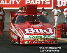 KENNY BERNSTEIN 1989 BUDWEISER KING BUICK NHRA FUNNY CAR 8X10 PHOTO MAPLE GROVE