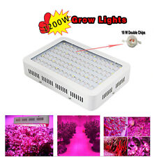 1200W LED Grow Light Lamp Medical Plants Flower Oganic Growing Full Spectrum