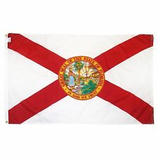 Florida State Flag Super-Poly 5x8 foot (150D Super Polyester)