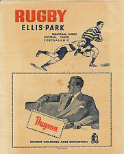 Transvaal v Welsh Secondary Schools (Young Dragons) 25 Aug 1955 RUGBY PROGRAMME