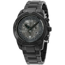 CITIZEN Eco-Drive AT2265-50H Black Stainless Steel Analog Eco-Drive Men's Watch