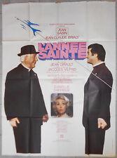 Affiche L'ANNEE SAINTE Jean Girault JEAN GABIN Jean-Claude Brialy 120x160cm