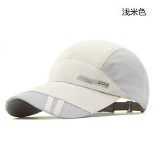 Men Hiking Sport Baseball Mesh Hat Outdoor Adjustable Women Running Visor Cap