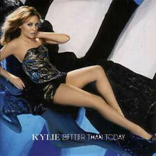 ☆ CD SINGLE Kylie MINOGUE Better than today CARD SLEEVE 2-TRACK NEW SEALED ☆