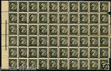 M01 - ** Victoria 1/2 CENT SMALL QUEEN BLOCK OF 60. MNH. Minimum Cat $4500 **