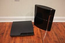 2 AS IS Sony PlayStation 3 PS3 system CECH-3001A & CECHA01 Free Ship Powers off