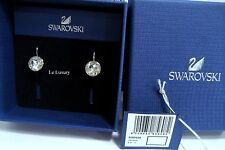 Swarovski Bella Mini Pierced Earring Rhodium-Plated Crystal Authentic - 5085608
