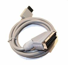 Nintendo Wii WiiU RGB Scart Video AV Cable Lead UK Seller