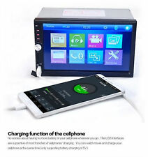 "7"" 2Din Bluetooth 12V Car Stereo FM Radio MP5 Player USB/ TF kamera 3Y Warranty"
