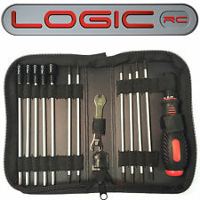 Logic RC Car Tool Set (19 tools in zipped wallet) Alan Allen Key Hex Nut Driver