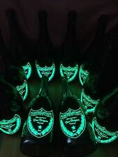 Dom Perignon  illuminated champagne bottle (1 empty bottle in total)