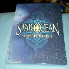 STAR OCEAN INTEGRITY FAITHLESSNESS COLLECTORS EDITION STRATEGY GUIDE BOOK FS NEW