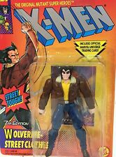 Vintage 1994 Marvel Comics~WOLVERINE STREET CLOTHES~Uncanny X-Men Figure ToyBiz